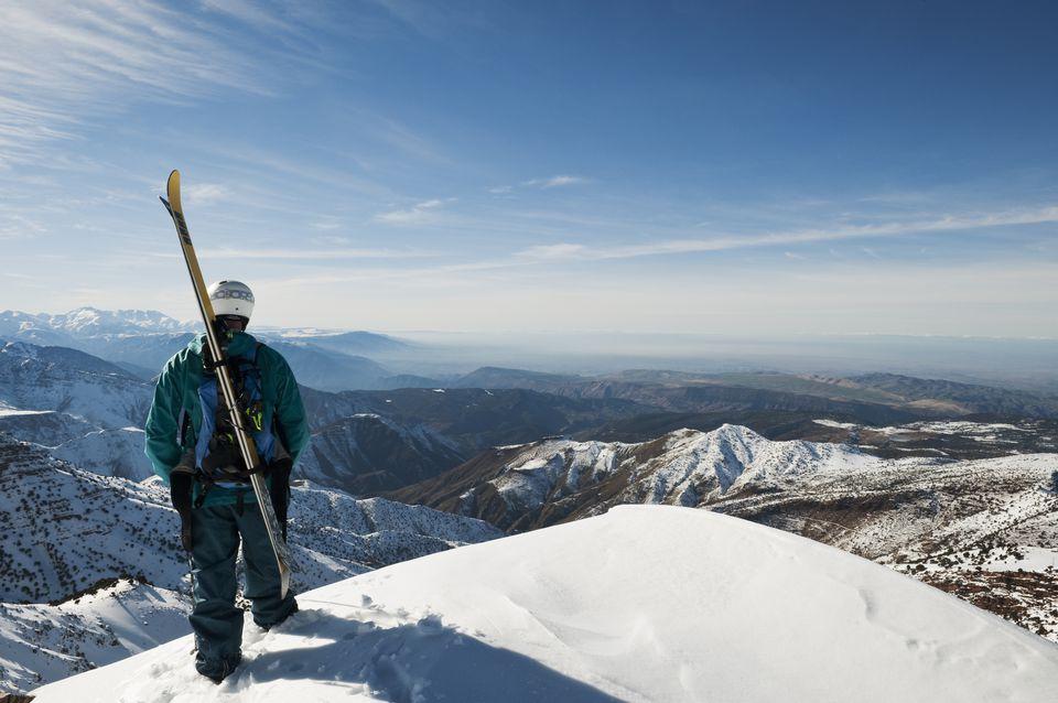 It's time to do something deferent  !!!  So..  Ski tour in Morocco is the best option for adventure maker........    #Skitour #SkitourinMorocco #berberwalkingtour #walkingtour #moroccotour #walkingmoroccotour