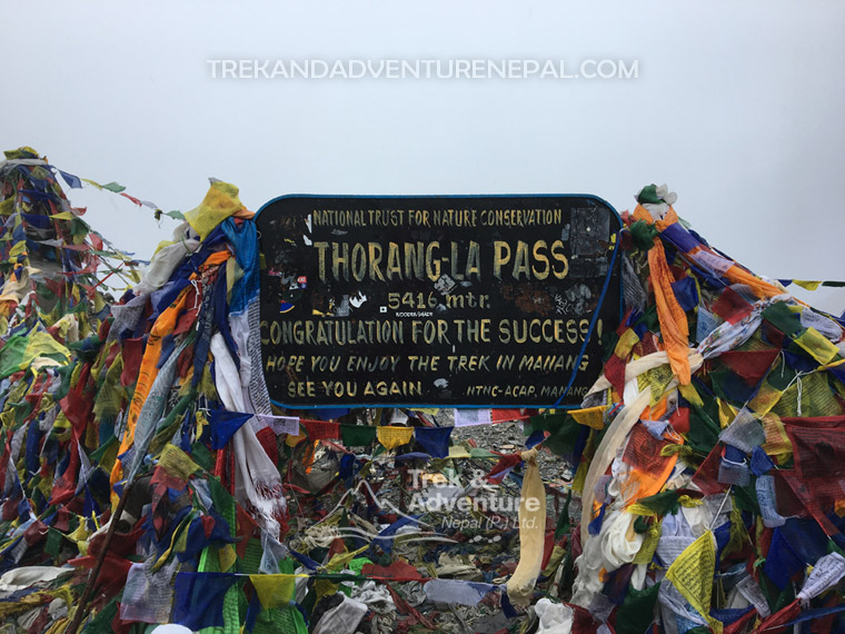 Thorung La is a mountain pass with an elevation of 5,416 metres above sea level in the Damodar Himal, north of the #Annapurna Himal, in central Nepal. Book your trip for this coming season. http://bit.ly/Anna-rgn#adventure #VisitNepal2020 #travel2020 #trek #ThrowbackThursday