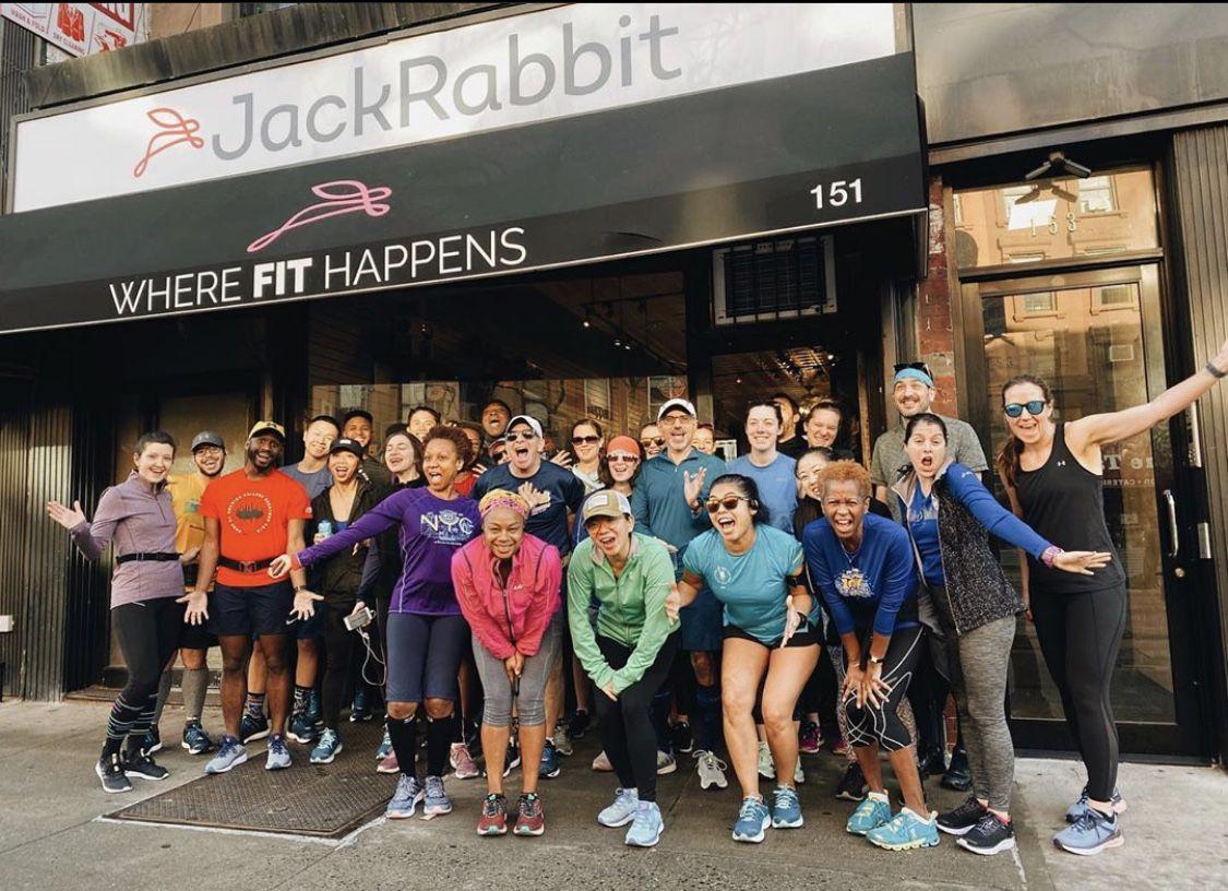Saturday Squad Goals at JackRabbit 🏃🏽🏃🏾♀️🏃🏼🏃🏻♀️ ... ... 📸: @jackrabbit_brooklyn