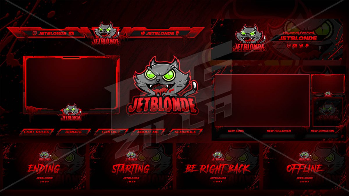Amazing Twitch overlay for  @JETBLONDE1   . . Thank you for trusting GGZILLA !! Order your own Overlay now #twitch #esportlogo #esportlogoteam #logotwitch #logoinspiration #twitchgamer #logogaming #twitch #logoawesome #gaming #fortnite #streaming #twitchoverlay #CONNECT_BTSpic.twitter.com/Z7d5ALRauI
