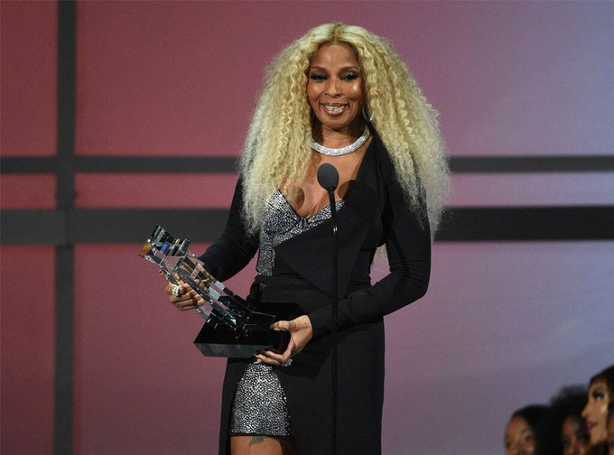 A Most Happy Birthday to Mary J. Blige, BET Lifetime Achievement Award Winner.