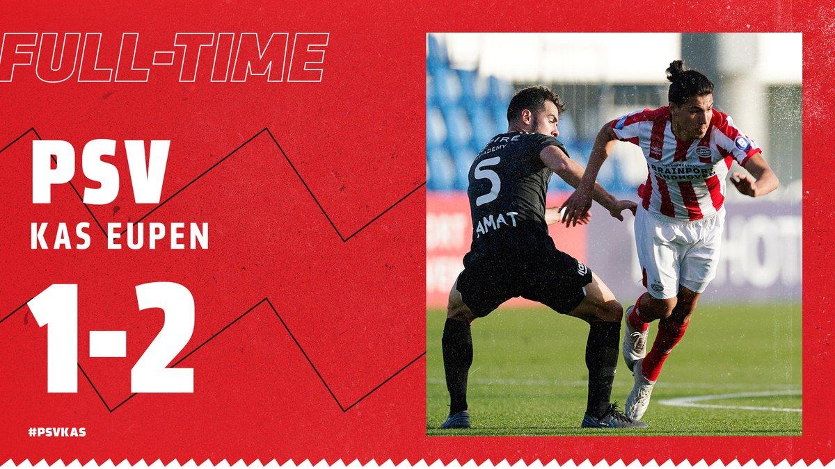 FT. PSV besluit het trainingskamp in Qatar met een 2-1 nederlaag. Zondag keert de selectie terug naar Nederland. #PSVKAS