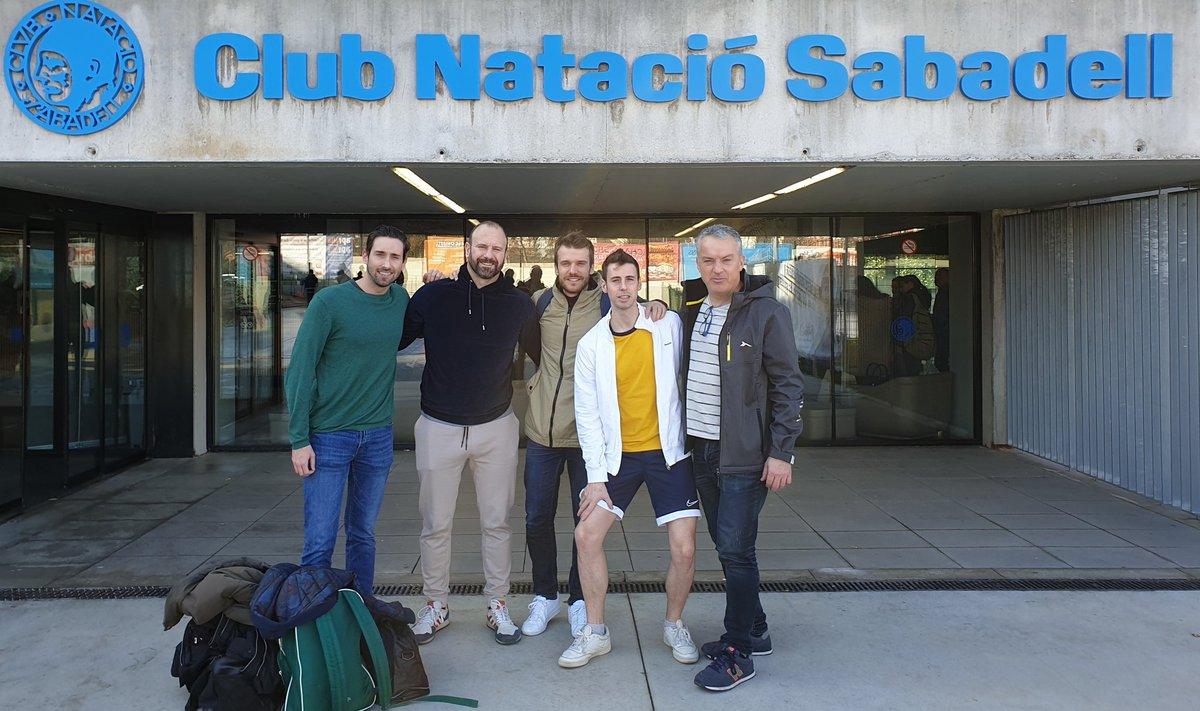 II Campionat de Catalunya Open Màsters Natació d'Hivern. Enguany amb 5 participants de #PanteresGrogues al @CN_Sabadell organitzat per la @nataciocat.  #masterswimming #nataciómàster #natació #gayswimmers https://t.co/R5veQ8GQQJ