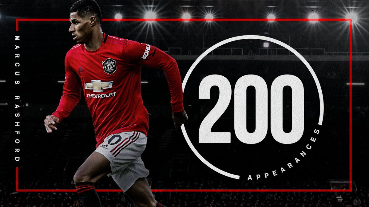 Welcome to the #MUFC 200 Club, @MarcusRashford 🔴  #MUNNOR