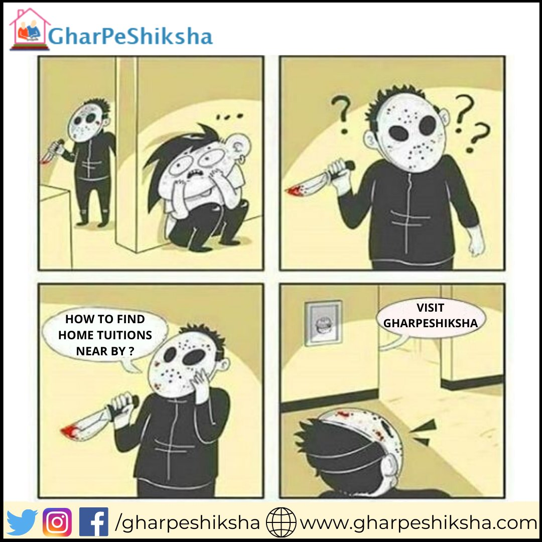 Want to teach? Create free tutor profile and teach students nearby , https://www.gharpeshiksha.com/tutor-section.jsp … Contact no - (+91)7065-8065-65. . . #gharpeshiksha #MEME #memes #instafact #factz#factz #generalknowledge #fact #realfacts #factsdaily #didyouknow #didyouknowfactspic.twitter.com/7rZZ7iiurU