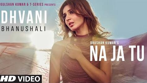 The new song by #DhvaniBhanushali is getting popular:   #NaJaTuSong -  सुबह से शाम तक देखा मैं तुझे सोऊँ नहीं, सोऊँ नहीं हाँ मेरे पास ही रह जाओ ना यहीं कहीं, यहीं कहीं...  Full Lyrics: https://www.mahfil.in/2020/01/na-ja-tu-lyrics-dhvani-bhanushali.html…  #DhvaniBhanushali #NaJaTu #TanishkBagchi #NewSongs #Songs2020pic.twitter.com/oXs5QZ4KGW