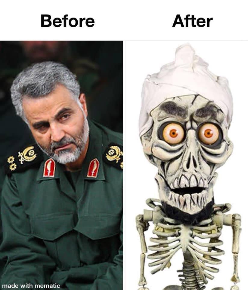 The internet wins today. 🤣🤣🤣 #Iran #Solemani #SoleimaniKilled #AchmedTheDeadTerrorist #JeffDunham