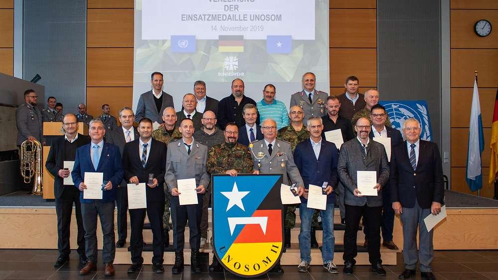 Orden Bundeswehr Einsatzmedaille UNAMID bronze i818