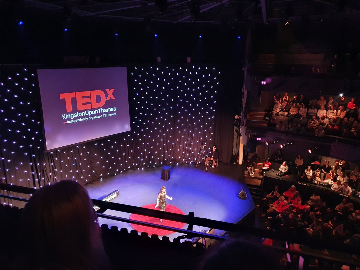 Another fab talk @TEDxKingston https://t.co/1yTE7UczZs