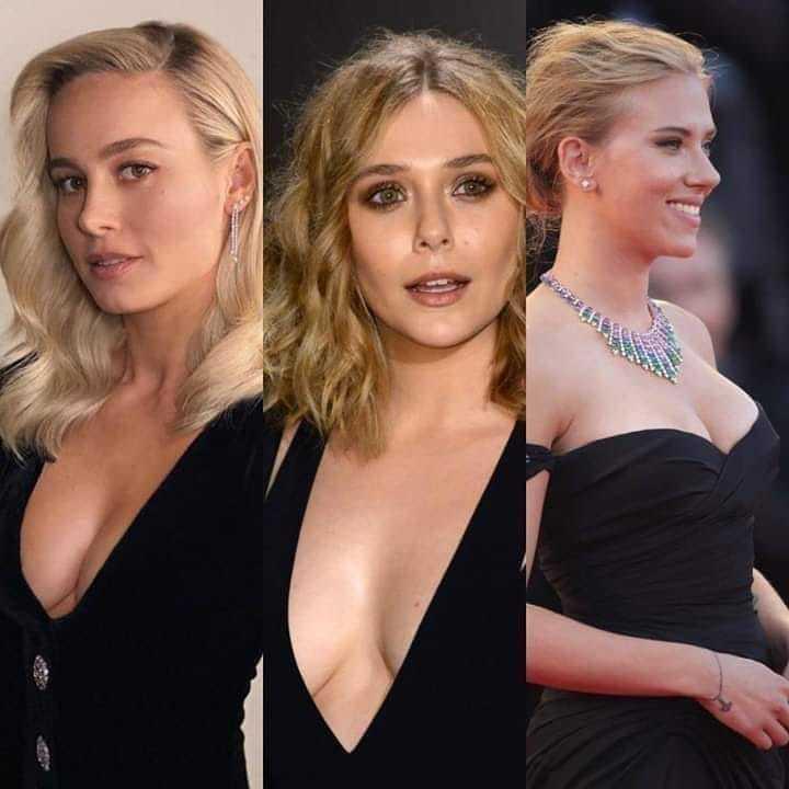 Qual a sua favorita, Brie Larson, Elizabeth Olsen ou Scarlett Johansson?pic.twitter.com/Akkdz7a3WP