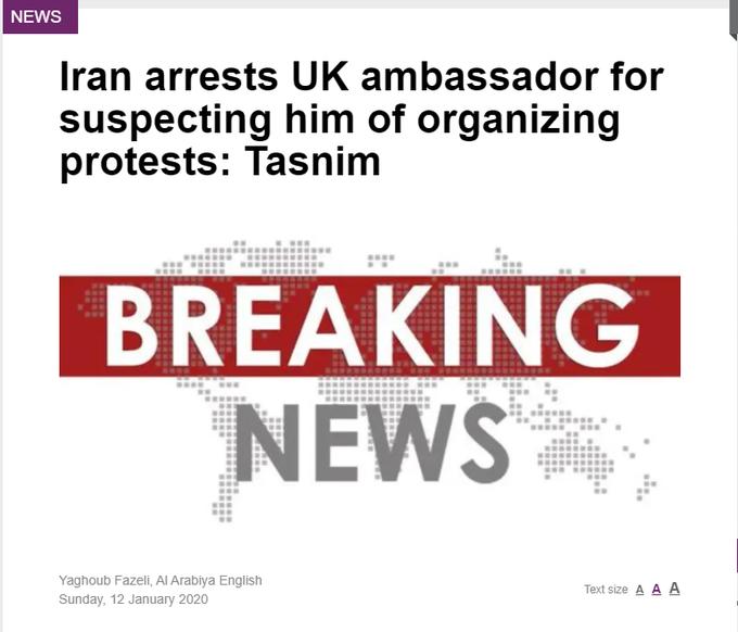 EASA призывает авиакомпании избегать воздушного пространства Ирана в свете заявления о случайном сбивании пассажирского самолета - Цензор.НЕТ 4150