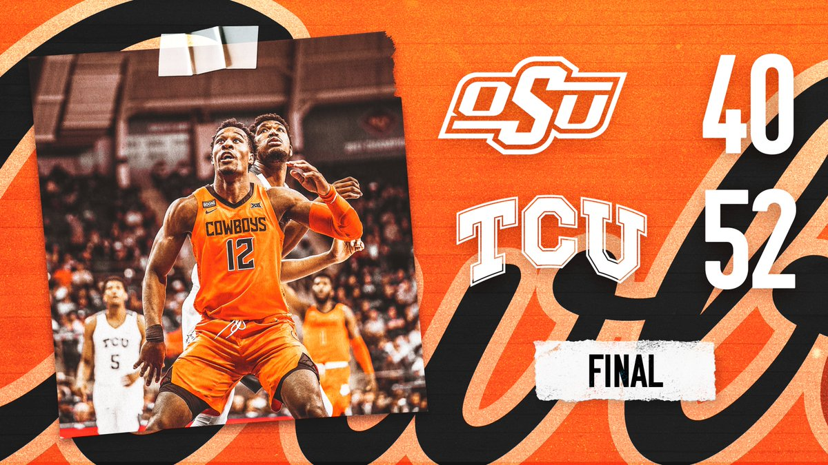 Final from Fort Worth.  #LetsWork | #GoPokes <br>http://pic.twitter.com/xr1TuvwAlx