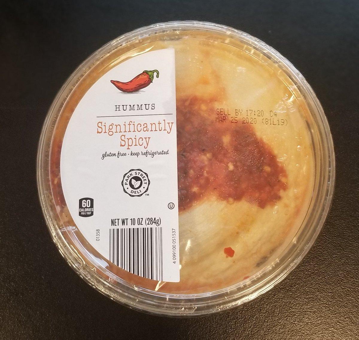 My new favorite hummus (p<.05)
