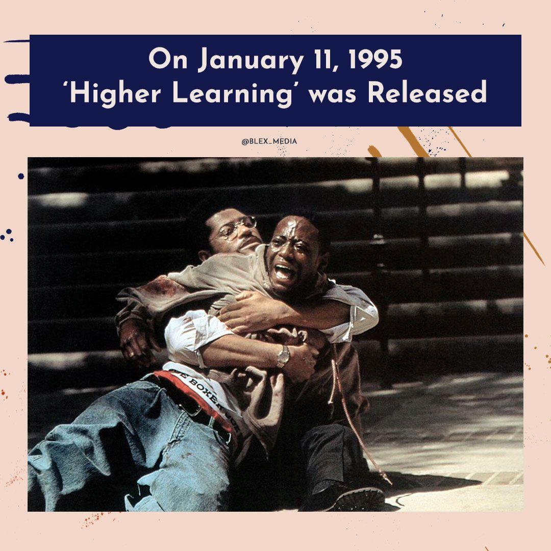 Who remembers 'Higher Learning'?  #higherlearning #omarepps #icecube #bustarhymes #tyrabanks #michaelrappaport #laurencefishburne #columbiauniversity #90smovies #80smovies #blexmedia #blackactress #blex #blackfilms #blackcinema #blackclassicmovies #classicmoviespic.twitter.com/nz96zuzAst