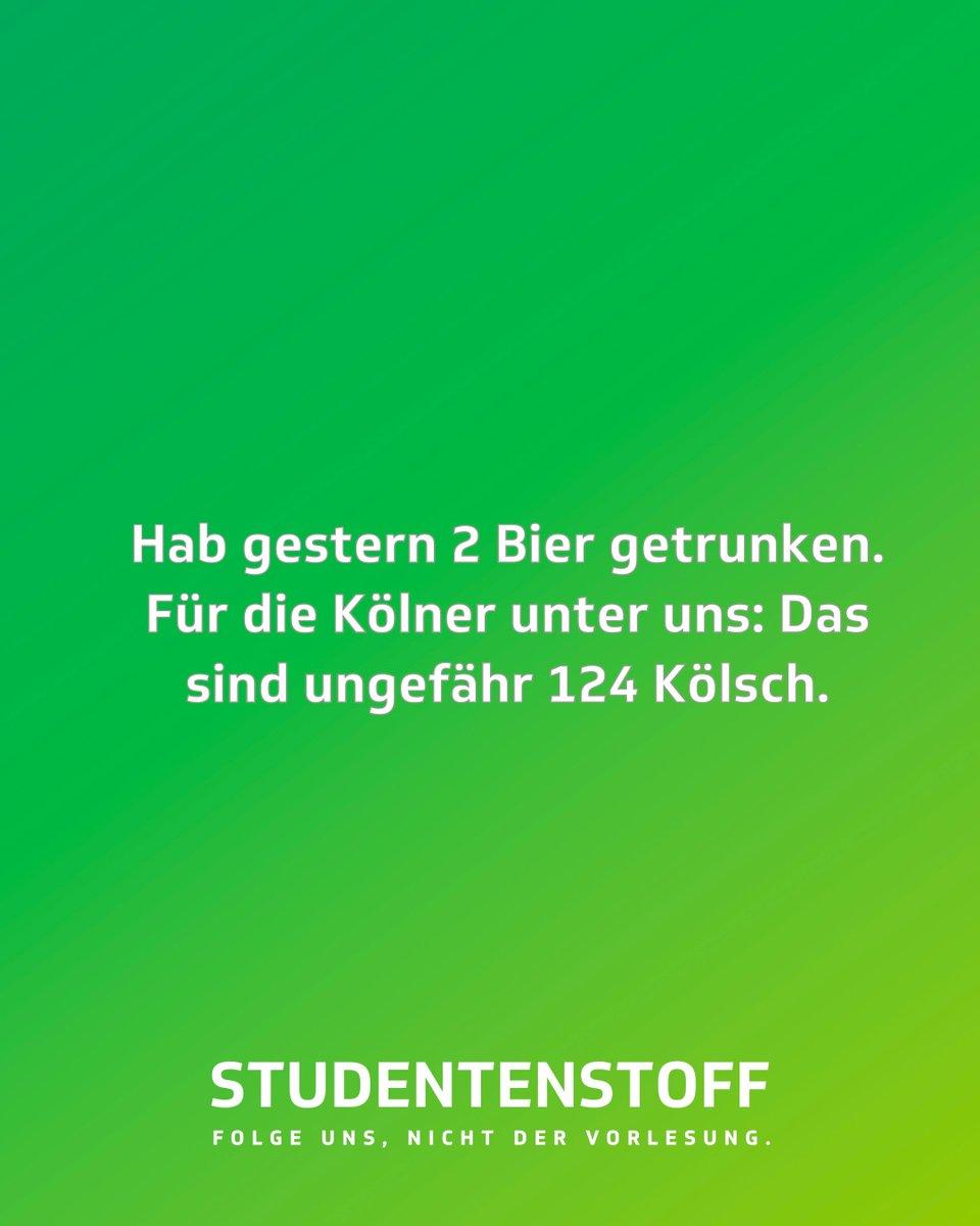 Grüße nach Köln #studentenstoff #köln #kölsch #düsseldorf #bier #bierchen #trinken #alkohol #jodel #jodelapp #bestofjodel #jodeldeutschland #sprüche #spruchpic.twitter.com/LwMQdnE50I