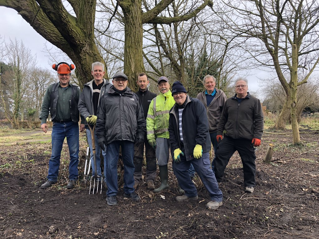 Massive thanks to Keith from @nohasselllands1 for your awesome support & loan of machinery to #FoNGP #volunteers this week, without which tremendous in roads into uncovering long forgotten historic aspects of the walled garden in #NorrisGreen park would not have taken place.