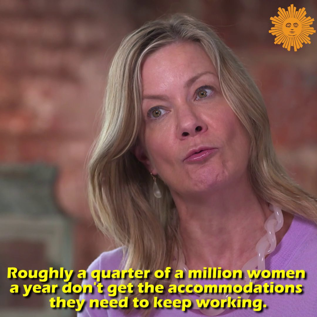 Tomorrow on #SundayMorning  It's a story told thousands of times across America: Women can get the job – just don't get pregnant. Pregnancy discrimination has been illegal under federal law for more than 40 years but pregnant women are pushed out of their jobs every day