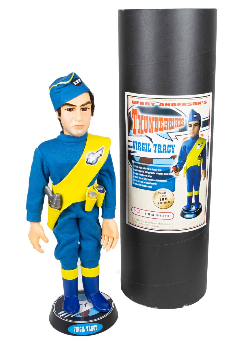 Thunderbirds Are Go! - Iconic Replicas 1:1 full studio scale Virgil Tracy. Available at http://www.pm-antiques.co.uk  #gerryanderson #thunderbirds #virgiltracy #iconicreplicas #puppet #prop #filmprop #movieprops #memorabilia #toys #toysforsale #giftideas #collectables #tv #tvshow #buypic.twitter.com/2ZtL8mv9J0