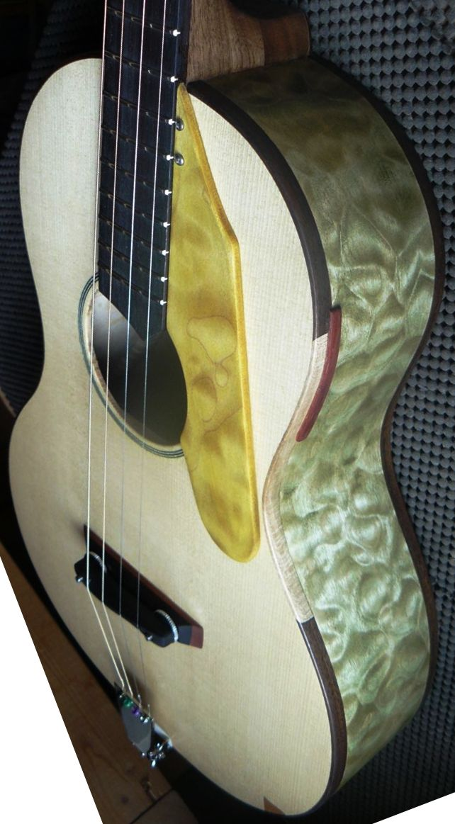 joe Egan custom guitars ukulele