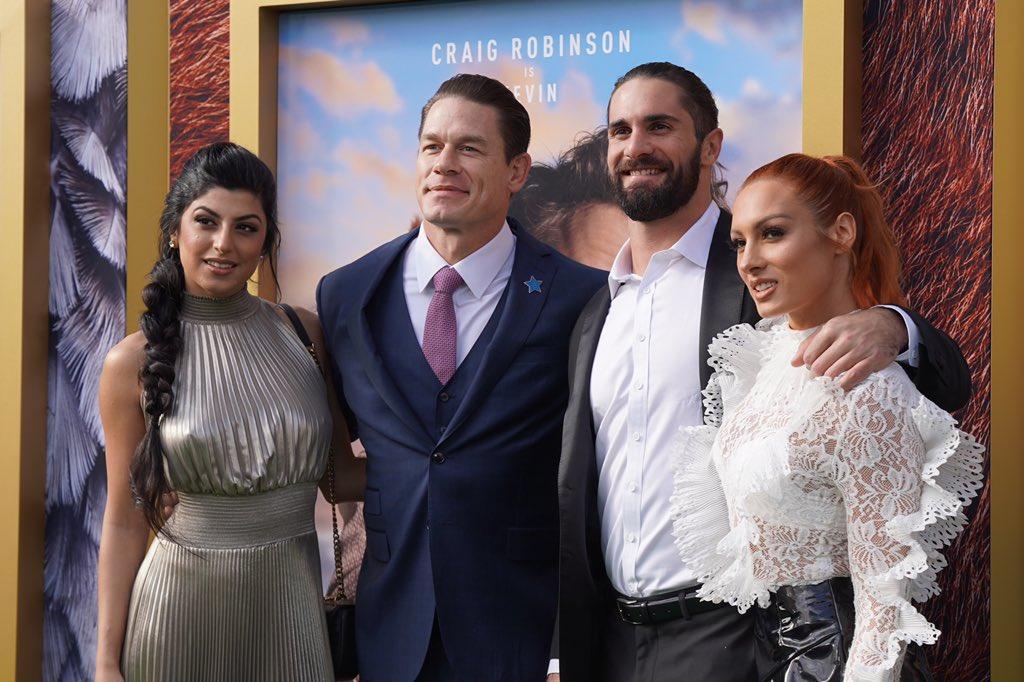"WWE Superstars Support John Cena At ""Dolittle"" Premiere (Photos)"