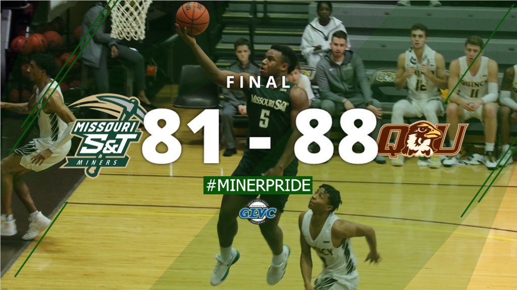 MBB, Final: @MST_MBB fights back behind 32 points from CJ Hedgepeth. #MinerPride