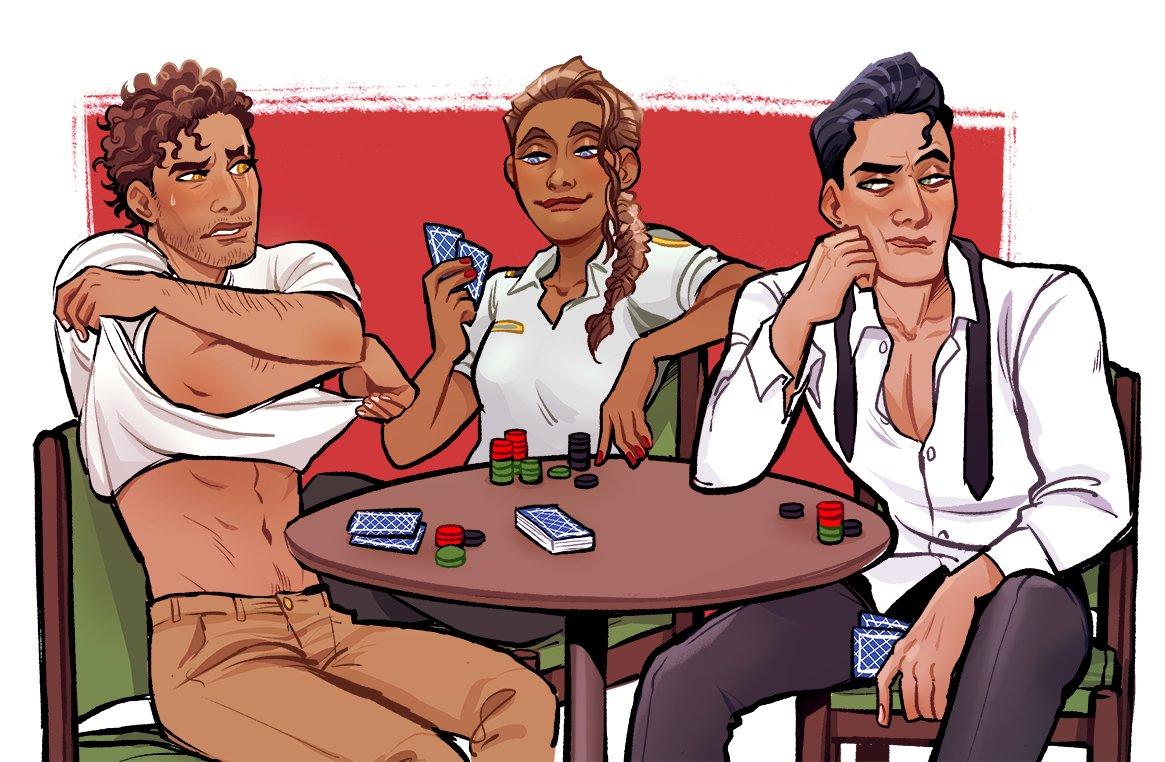 To play strip poker