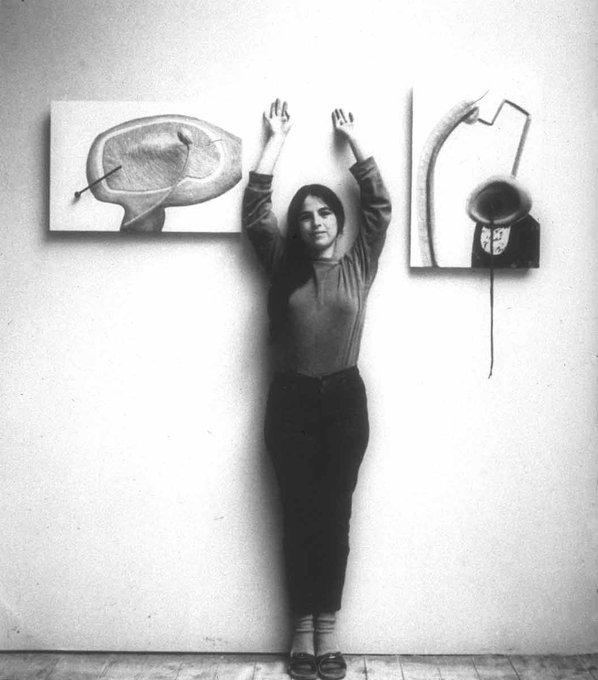 Excellence has no sex. Happy Birthday, Eva Hesse