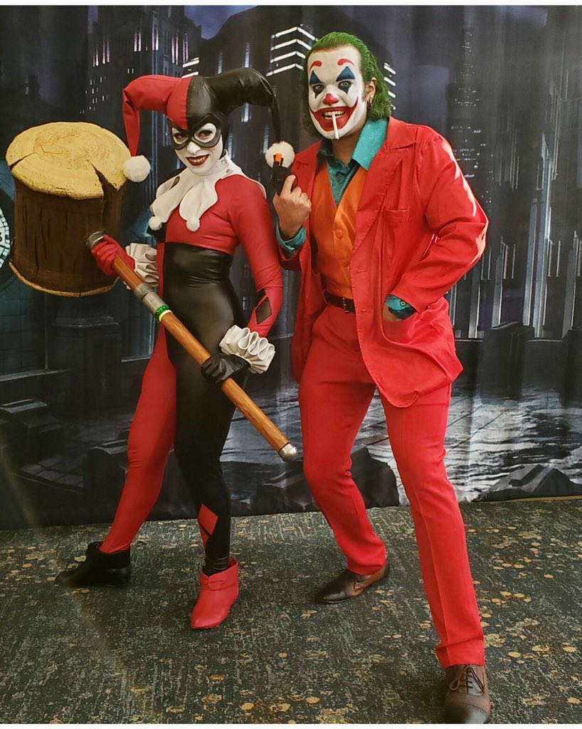 Parks And Cons בטוויטר Power Couple Joker Harleyquinn Cosplay Lbce Longbeach