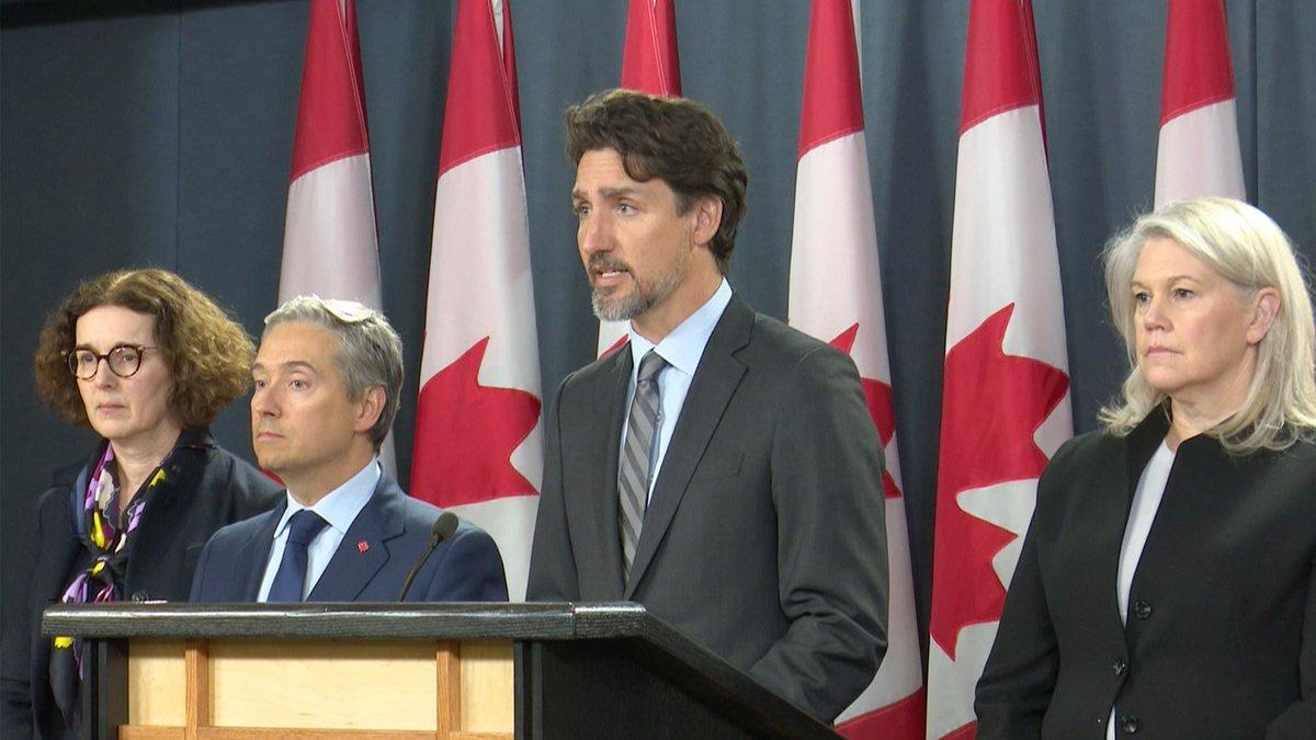 Plus tôt aujourd'hui, le premier ministre Justin Trudeau a présenté une mise à jour sur les derniers développements en Iran.
