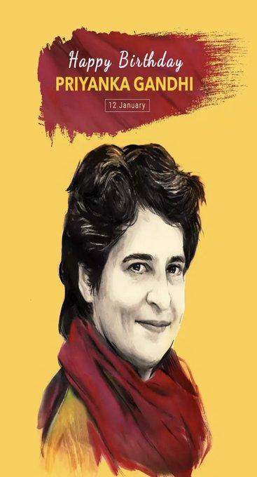 Happy Birthday..Priyanka Gandhi..