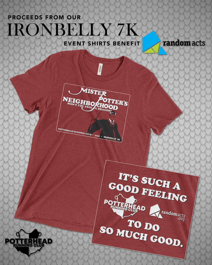 Random Acts is the event charity partner for the #Ironbelly7k virtual run hosted by @PotterheadRuns. Get a magical medal and a global community cheering you on to complete your distance any - where, time and how! Register today: tinyurl.com/phrc-ironbelly…