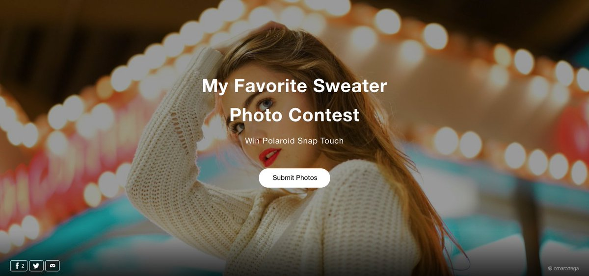 New Contest: My Favorite Sweater See what members are submitting and add your photos: https://buff.ly/2tIkW7f