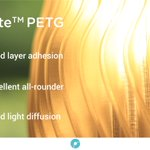 Image for the Tweet beginning: PolyLite™ PETG is an affordable
