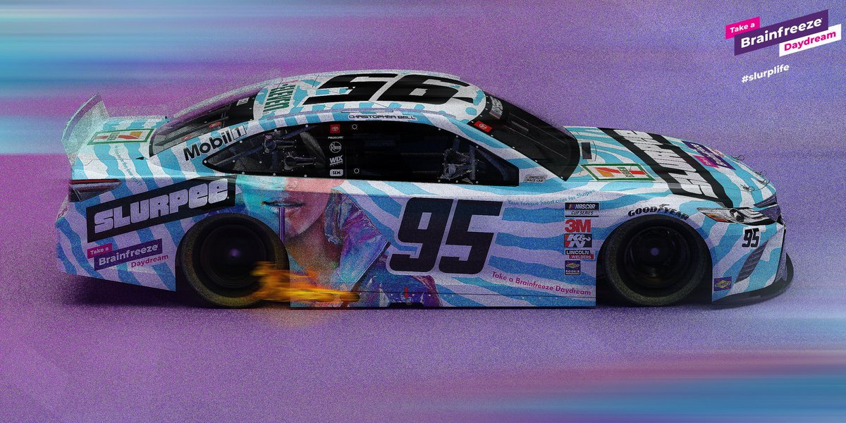 @CBellRacing I don't know where exactly this came from but I did it. It's been 84 years, but it's finally done. @BLeavine @slurpee #NASCAR #NASCARHeat #iRacing #SlurpLife <br>http://pic.twitter.com/RbztsHeqqE
