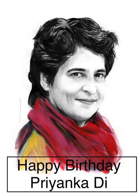 Wishing A Very Happy Birthday to Priyanka Gandhi Vadra.