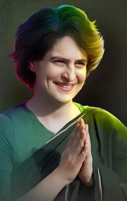 """Many many returns of the day \""""Happy Birthday\"""" to Mrs.Priyanka Gandhi ji."""