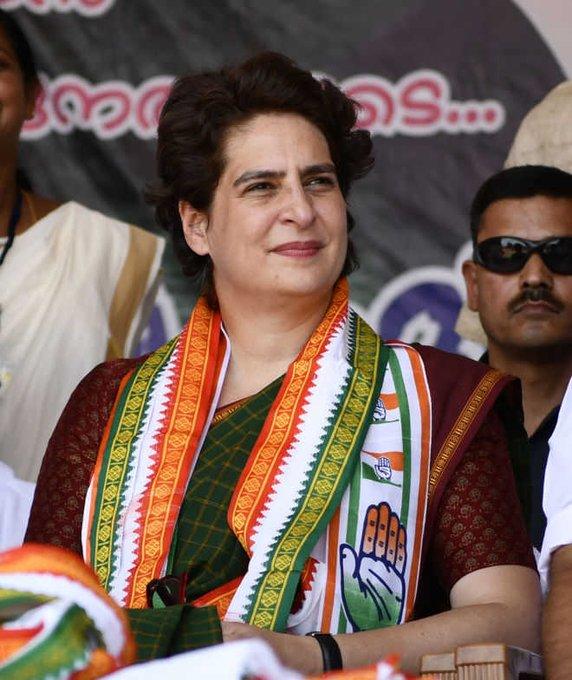 Happy birthday to you Priyanka Gandhi