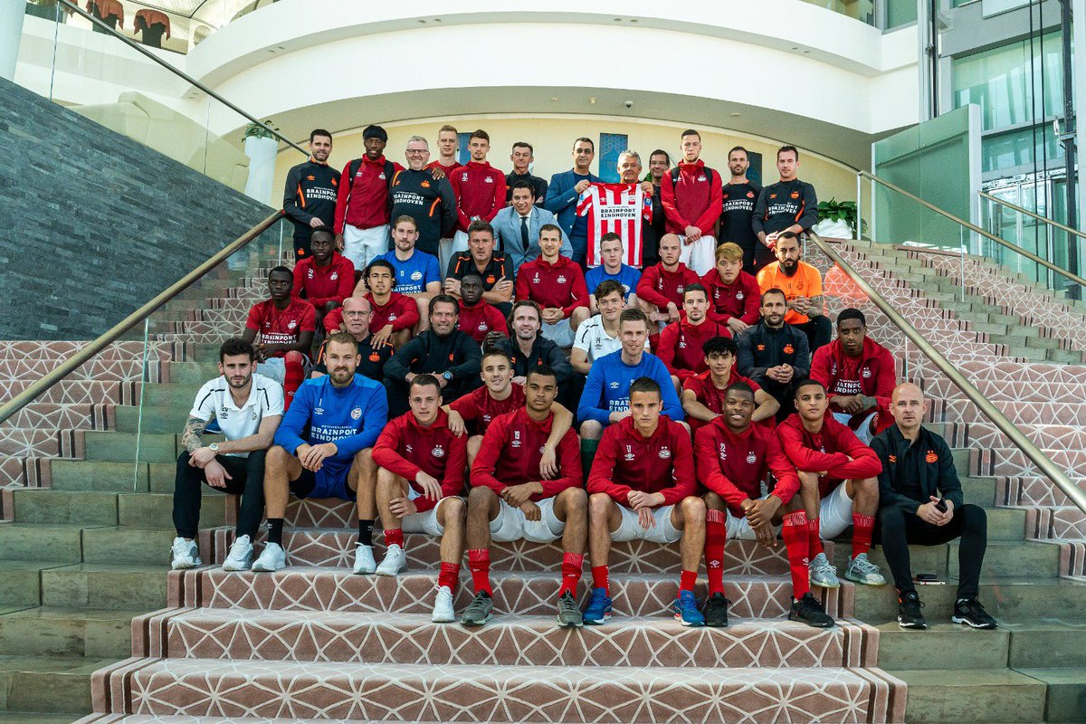 Trainingskamp ✔️ Today ✈ EHV. #PSVinDoha