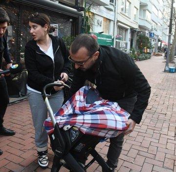 , شاهد: هازال كايا تظهر مع طفلها.. وتعلق على وزنها!