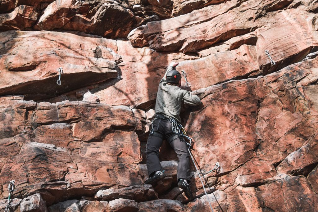 We at #Guidebase are big advocates for helmets when climbing, belaying and scrambling in the outdoors. Loose rock isn't a rarity on the crag!  They might seem expensive but it's a small price to pay for safety!  #climbing #sportclimbing #tradclimbing #mountaineering #safety