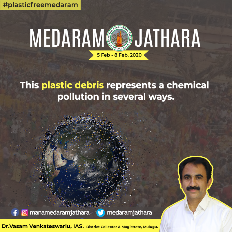 Medaram Jatara to be held from 5th feb to 8th Feb. #Plastic is not allowed in Medaram.  Like and Follow Us for More Updates on Medaram Jatara.  #plasticfreemedaram #medaram #sammakka #saralamma #jampanna #noplastic #saynotoplasticpic.twitter.com/m6b3b3RKZC