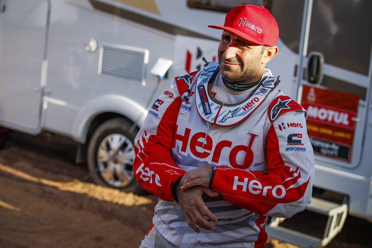 Condolences to @dakar and all friends and family of Paulo Goncalves #DakarRally
