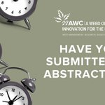 Image for the Tweet beginning: Hurry! Abstract submissions closing soon