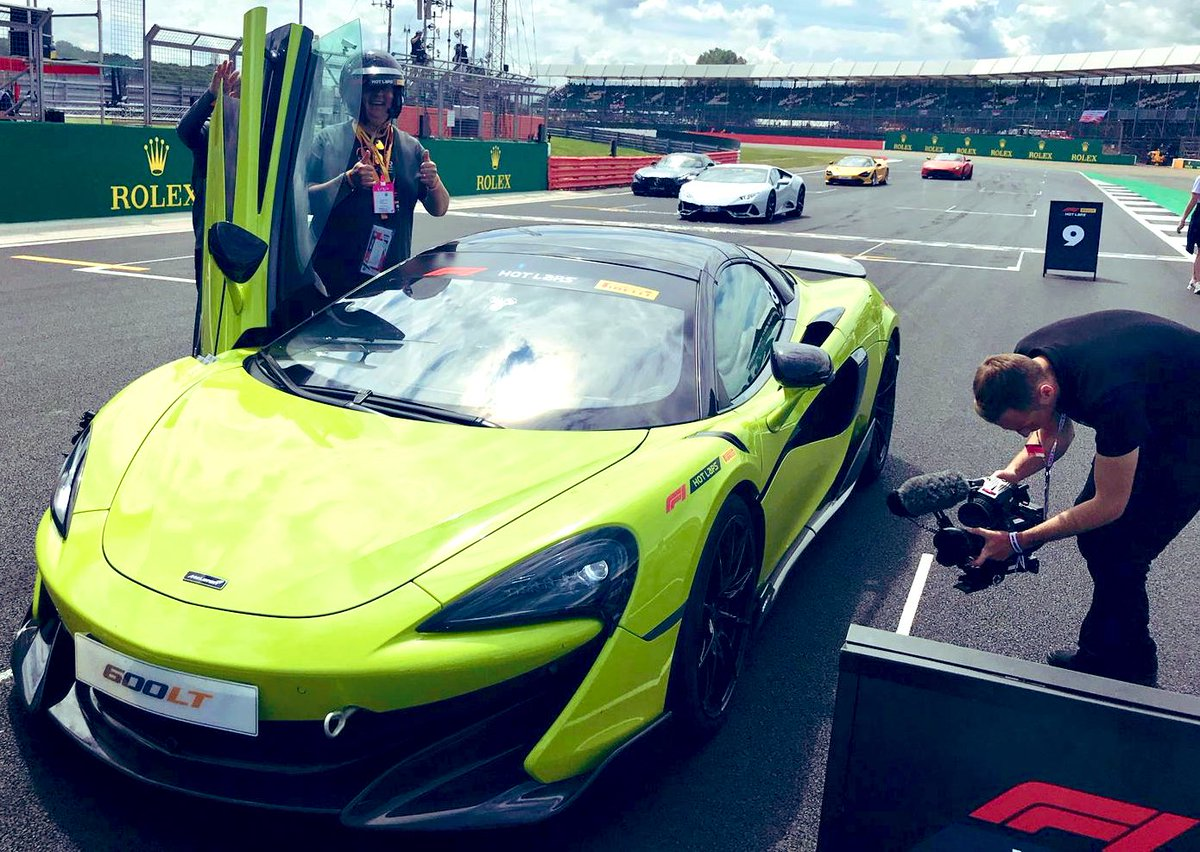 @McLarenF1Adam @yiannimize @Autosport_Show @UK_PTCS @McLarenF1 It attracted many comments yesterday! He asked what my favourite McLaren road car was so I said one of them is the 600LT after my #F1PirelliHotlaps experience at Silverstone last year 💚 https://t.co/UGxNcd465Y