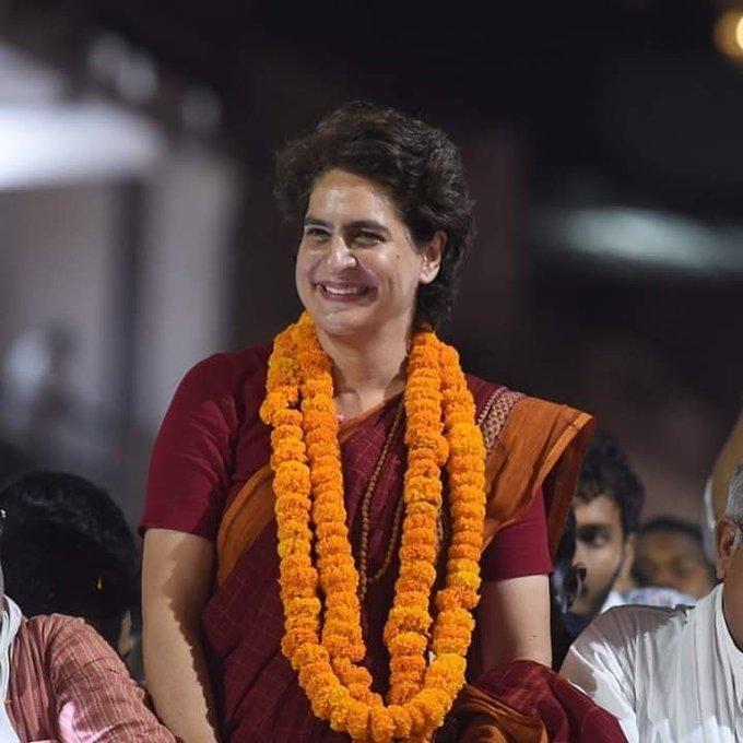 Happy birthday Priyanka Gandhi ji..  Always stay blessed and happy
