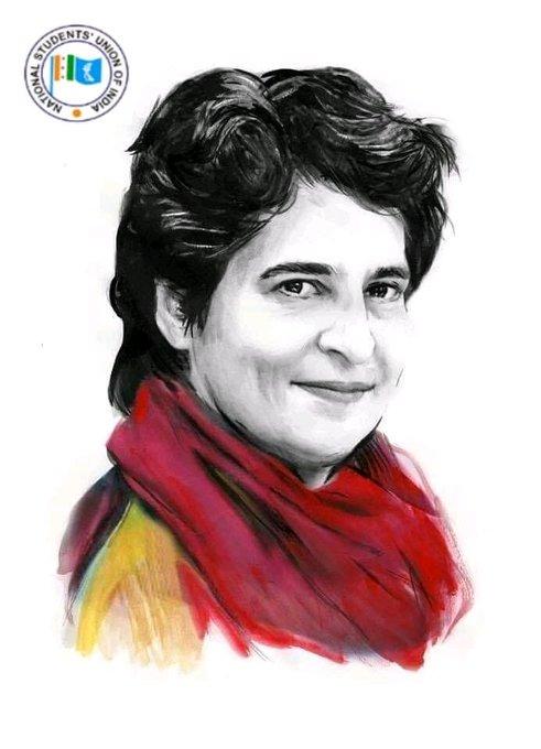 Priyanka Gandhi is one name of revolution Happy Birthday