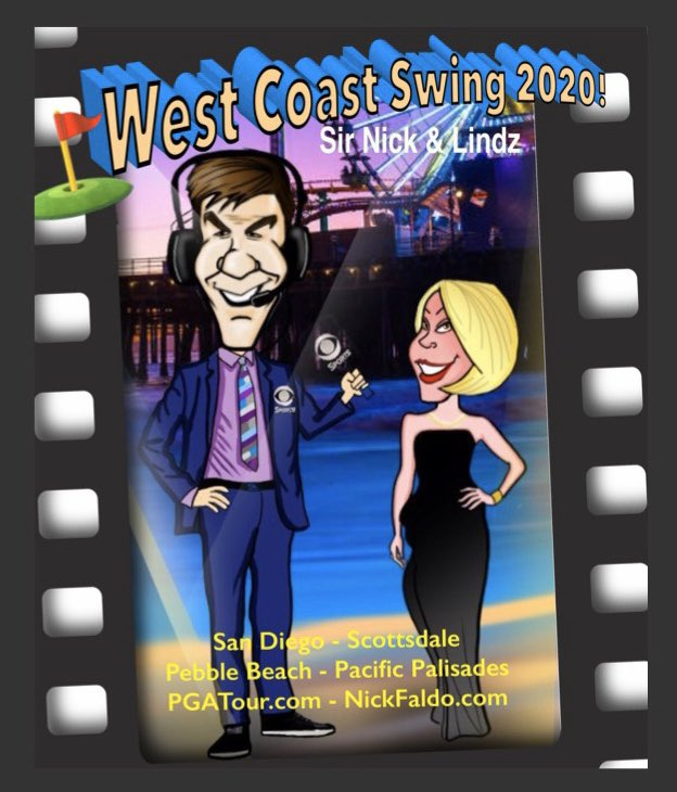 Countdown to the West Coast Swing 2020 ! If you aren't out there, we hope you will be watching it LIVE on @GolfChannel  @GOLFonCBS with @NickFaldo006 https://t.co/gbTYTHgCuy