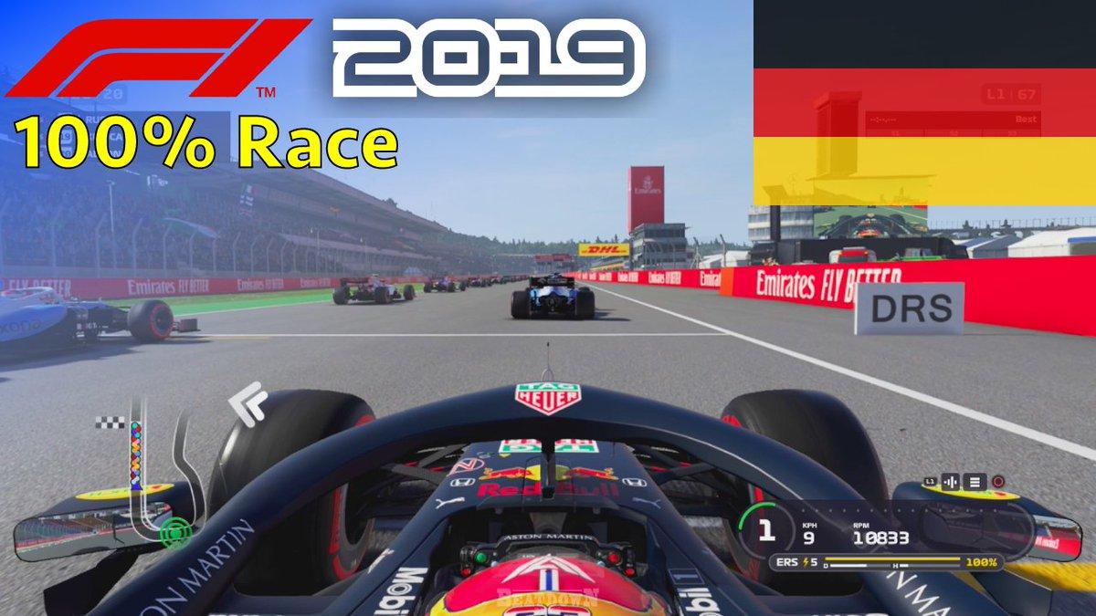 F1 2019 - Let's Make Albon World Champion #11: 100% Race Germany 🎮 #F12019 🙋♂️ #Albon #AA23 🇩🇪 #F1 #GermanGP  🎥 Watch the race here: https://youtu.be/OC2rXmwdA9U