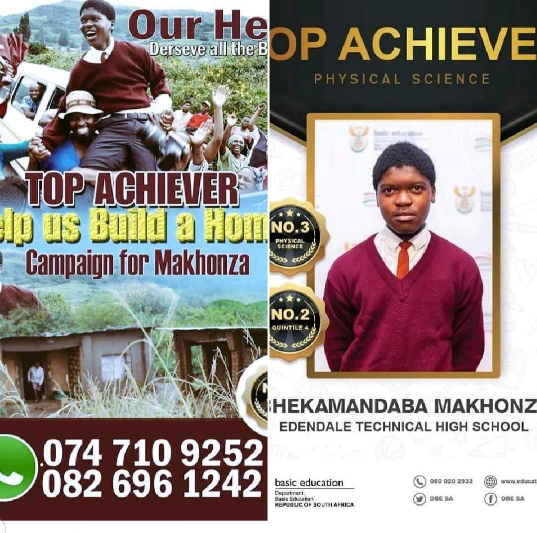 The whole nation managed to arrange a wedding for people who were already married #KFCProposal #KFCWedding can't we arrange a bursary for this young man, he want to study medicine and build a house for his family. #MatricResults19<br>http://pic.twitter.com/FcxhzfBZWV
