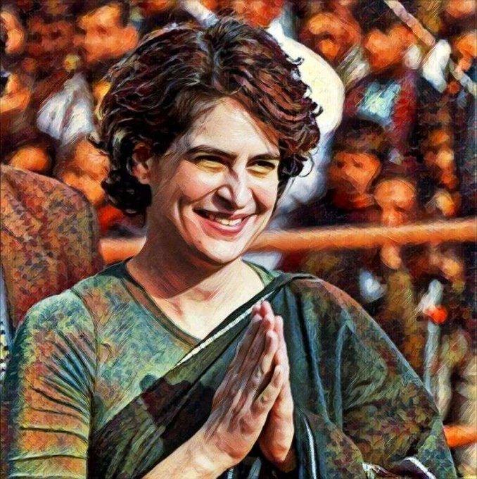 Happy birthday     , Priyanka Gandhi Ji